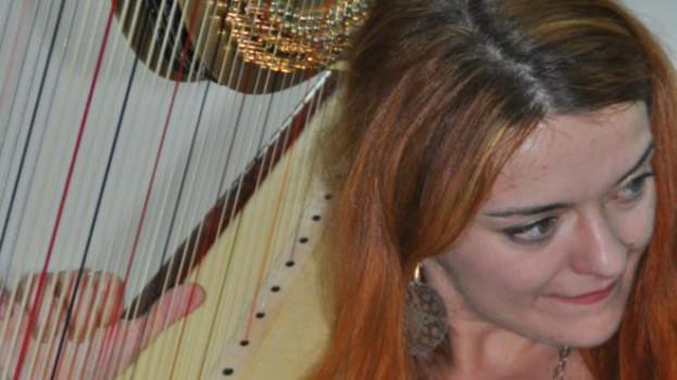 L'arpa di Daniela Ippolito sul palco di Argojazz
