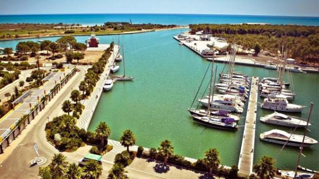 Il Porto degli Argonauti di Marina di Pisticci (Mt) primo porto in Italia a ricevere 5 Ancore d'Oro