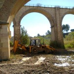 pulizia alvei fiume cavone craco basilicata magazine