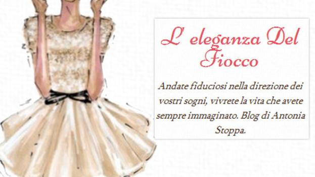 """Antonia Stoppa, la fashion blogger creatrice de """"L'eleganza del fiocco"""""""