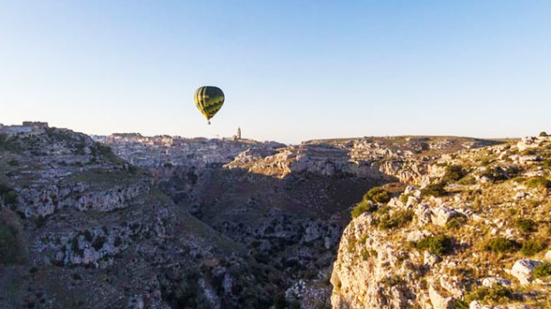 Matera Balloon Festival, il Sud che non ti aspetti