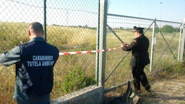 I Carabinieri del Noe sequestrano la discarica di Pisticci