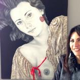 L'eros secondo Angela Caligiuri in mostra al Caffè del Circo di Matera
