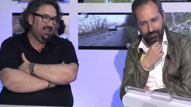 Il regista Antonio Andrisani e il produttore Angelo Calculli ospiti a Tursi per la giornata dedicata ad Albino Pierro
