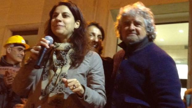 Beppe Grillo a Matera per le elezioni regionali di Basilicata 2013 (VIDEO)