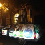 Elezioni Regionali Basilicata 2013. Un must l'auto di Girolamo Lacertosa