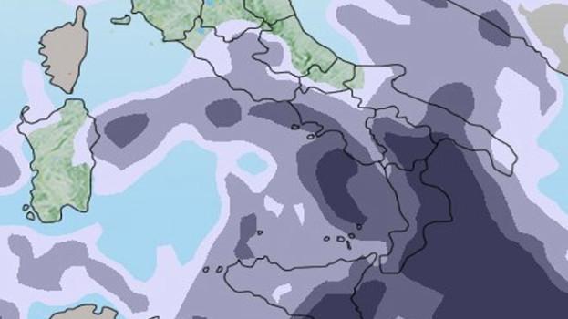 Allerta meteo: maltempo severo nel weekend al Sud, alto rischio nubifragi e dissesti idrogeologici