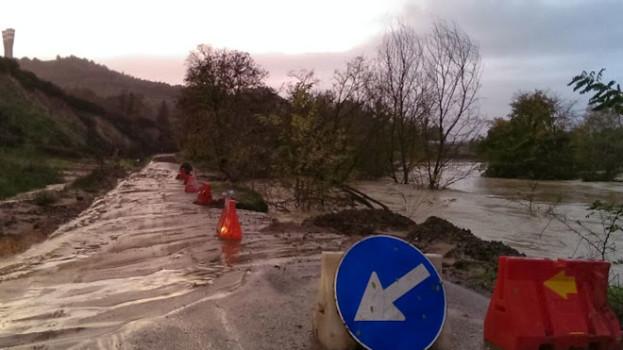 Alluvione nel Metapontino. L'effetto del ciclone Nettuno in alcuni scatti (Fotogallery)