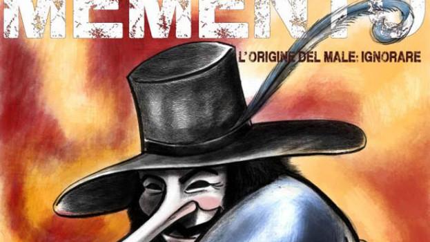 """""""Memento. L'origine del male: ignorare"""". L'illustratore materano Lorenzo Nicoletti presenta il suo spettacolo al Cine Teatro """"Duni"""" di Matera"""