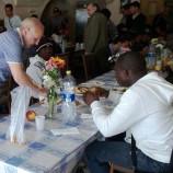 Sempre più frequentata la mensa dei poveri a Matera