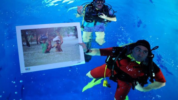 """In piscina, a Matera, la mostra fotografica """"AQUA – deserti e monsoni"""""""