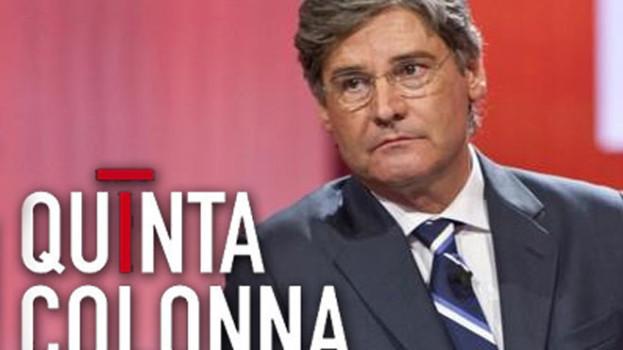 Il programma tv Quinta Colonna in collegamento da Matera