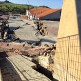 Montescaglioso, il terreno continua a muoversi (VIDEO)