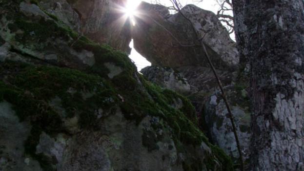 Aspettando il solstizio d'inverno a Petre de la Mola a Oliveto Lucano