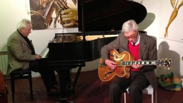La storia del jazz italiano al Ueffilo con Franco Cerri ed Enrico Intra