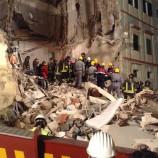 Matera, crollo: riunione Comune, Regione, Protezione civile, Provincia, Vigili del Fuoco