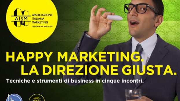 Happy Marketing: A Matera 5 incontri su tecniche e strumenti di business