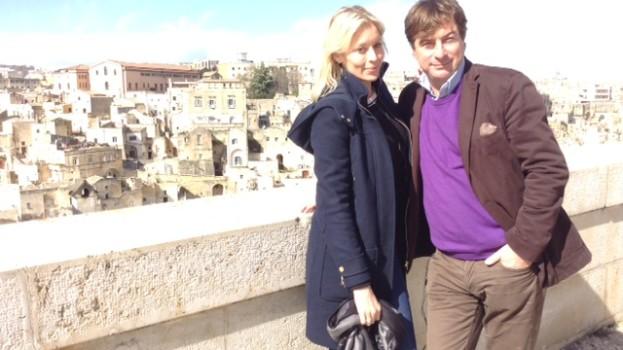 Weekend a Matera per l'attrice Ami Veevers Chorlton. L'intervista