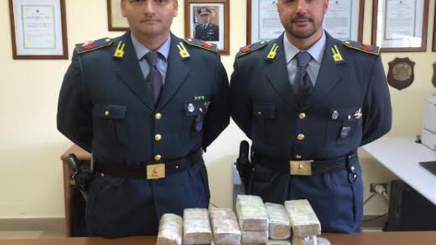 14 kg di eroina sequestrati sulla SS 106 dalla Guardia di Finanza