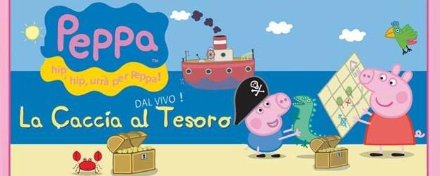 Lo spettacolo di Peppa Pig a Matera domenica 25 maggio