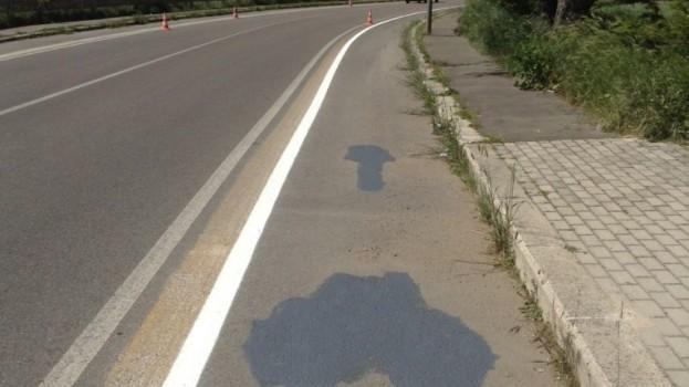 Piste ciclabili troppo larghe sulla circonvallazione. Si rifanno più strette.