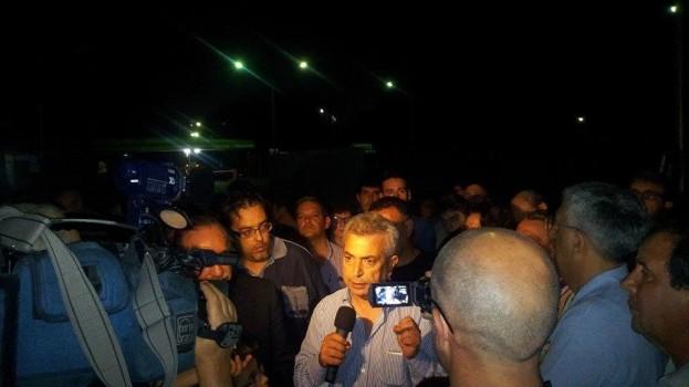 Bloccato l'ingresso di Tecnoparco: i cittadini in rivolta scendono in strada