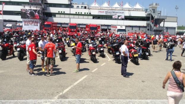 Tanti lucani al WDW2014: e' iniziata la festa Ducati a Misano