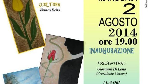 Mostra di pittura e scultura al CECAM di Marconia