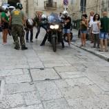 Maxi caduta in moto all'ingresso dei Sassi di Matera