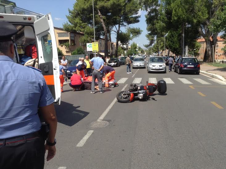 donna investita da motociclista via dante matera basilicata magazine 2