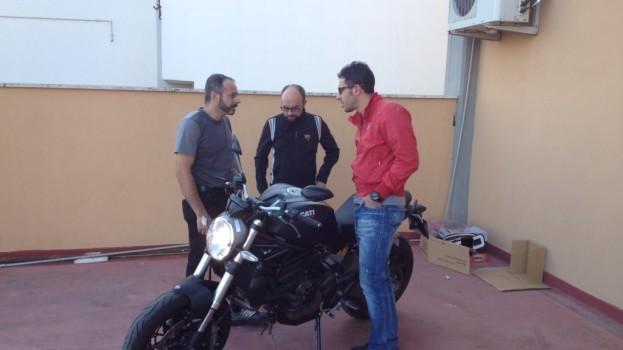 Anteprima materana per la Ducati Monster 821