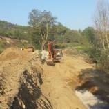 Iniziati i lavori di ripristino delle strade danneggiate dall'alluvione