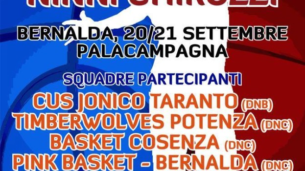 Il Memorial Ninni Chiruzzi ospita il grande basket a Bernalda
