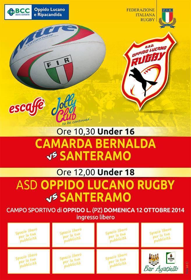 Camarda Rugby Bernalda FIR basilicata magazine