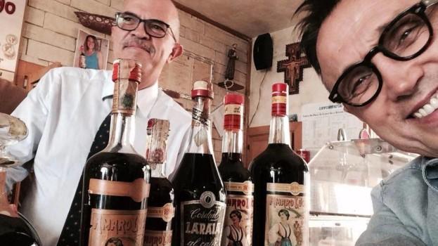 Bruno Barbieri a Pisticci per collaborare con l'Amaro Lucano