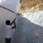 imbiancare muri calce dirupo legambiente pisticci pacchiana basilicata magazine 7
