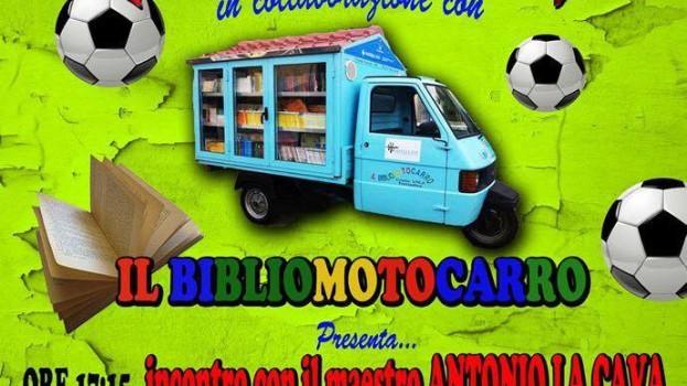 Il Bernalda Futsal ospita il Bibliomotocarro del maestro La Cava