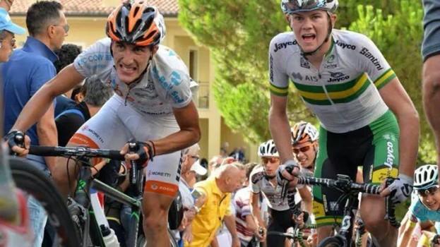 Manuel Di Leo si affaccia nel mondo del grande ciclismo