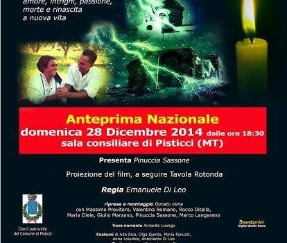 """A Pisticci l'anteprima nazionale del film """"La Notte di Sant'Apollonia"""""""