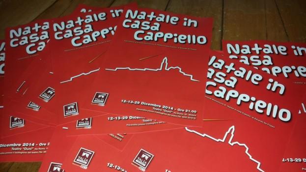"""TALIA TEATRO TORNA DOMANI AL DUNI CON """"NATALE IN CASA CAPPIELLO"""""""
