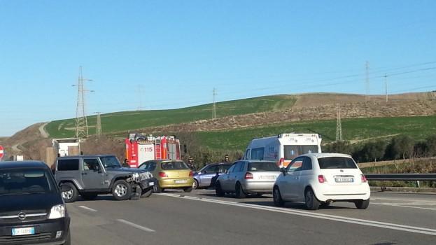 Incidente sulla Ferrandina-Matera. Traffico bloccato