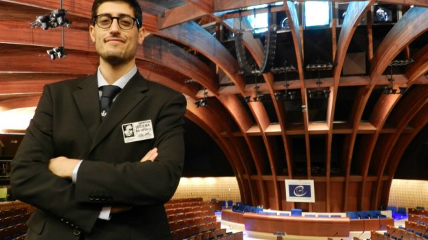Claudio Grieco, studente lucano nel Team di ELSA International