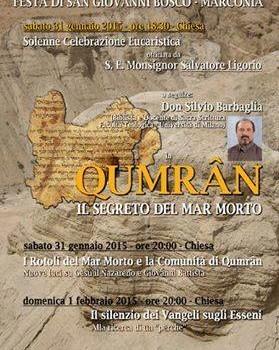 Don Silvio Barbaglia e i Rotoli del Mar Nero per commerorare i 200 anni di Don Bosco