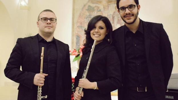 """La musica degli """"Euterpe Ensamble Trio"""" a Pisticci per regalare emozioni"""