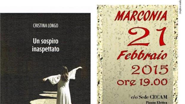 Cristina Longo presenta il suo romanzo d'esordio al CECAM di Marconia