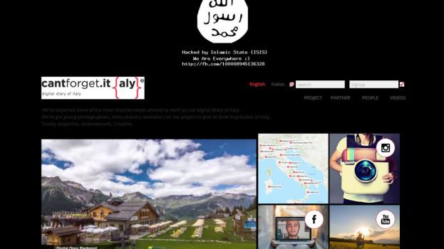 """L'Isis hackera il sito internet del progetto materano """"Can't Forget Italy"""""""