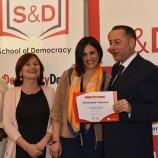 """Una giovane pisticcese al convegno """"School of democracy"""" a Reggio Emilia"""