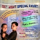 "L'associazione ""Terra Mia"" presenta ""One Night Special Event"""