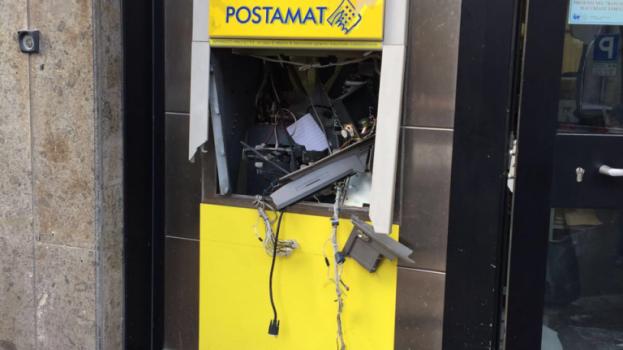 Altamura: furto al bancomat. Lo hanno fatto esplodere col gas