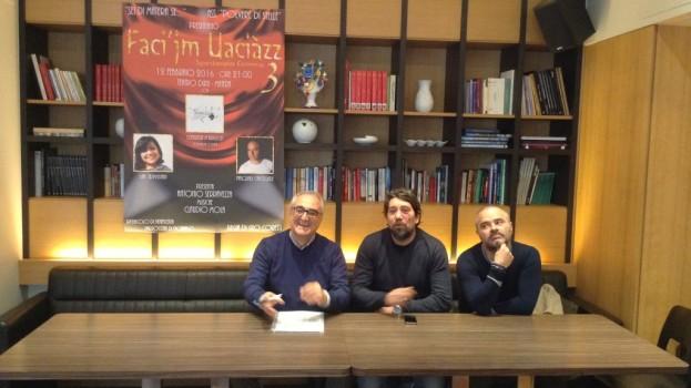Faci'jm Uaciàzz: grandi risate al Duni con Pasquale Cancelliere e Lia Trivisani